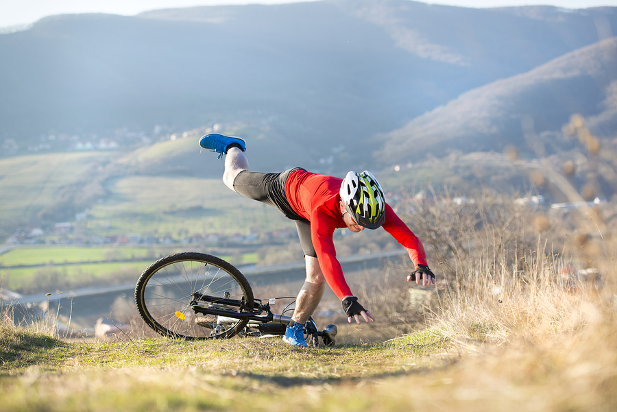 best-entry-level-mountain-bike-falling