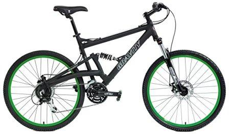 2018 Gravity FSX 2.0 Dual Full Suspension Mountain Bike