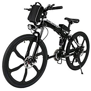 ANCHEER Folding Electric Mountain Bike