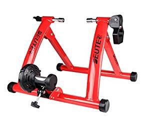 Deuter Indoor Bike Trainer, Portable Bicycle Magnetic Resistance Exercise Stand