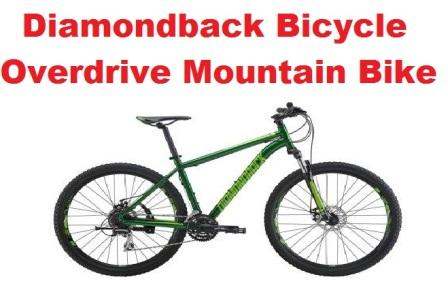 Diamondback Bicycle Overdrive Mountain Bike Review