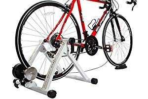 Indoor Exercise Bike Bicycle Trainer Stand 7 Levels Resistance Stationary X