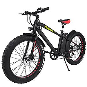 "NAKTO 26"" 300W Fat Tire Electric Bicycle"