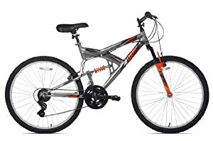 North Woods Aluminum Full Suspension Mountain Bike