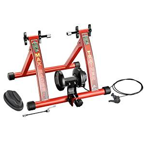RAD Cycle Products Max Racer 7 Levels with Smooth Magnetic Resistance Bicycle Trainer