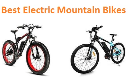 Top 15 Best Electric Mountain Bikes in 2018 - Ultimate Guide