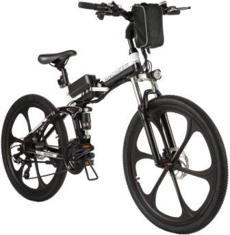 "ANCHEER Folding 26"" Electric Mountain Bike"