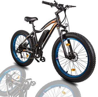 Ecotric 26 Fat Tire Electric Bike