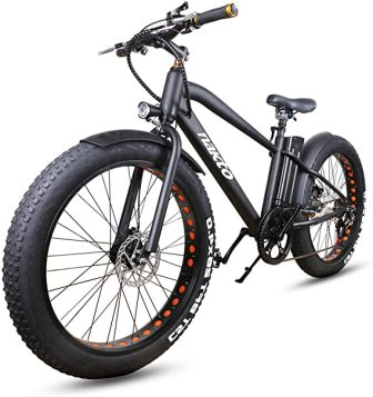 NAKTO 26″ Cruiser Fat Electric Bicycle