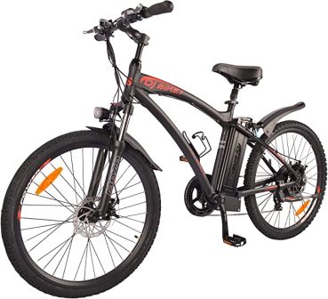 New Electric Bike Matt Black Electric Bicycle
