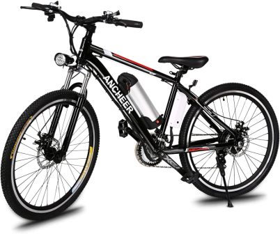 Sheepfun Foldable Electric Mountain Bike 26""